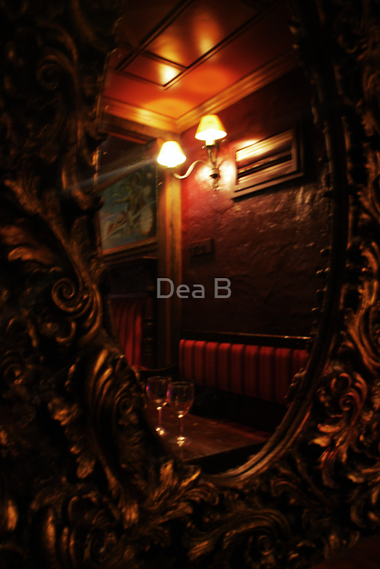 Looking through the looking glass into the past by Dea B