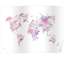 Continents Poster