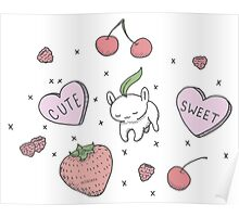 Milklets: Sweet and Cute Poster