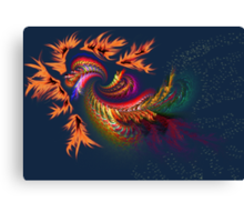 Dragon abstract fractal Canvas Print
