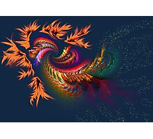 Dragon abstract fractal Photographic Print