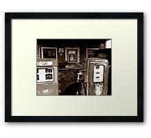 Henry's Garage 2 Framed Print