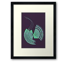 three together Framed Print