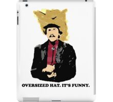 Turd Ferguson Oversized Hat iPad Case/Skin