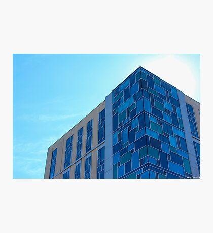 Building Meets Sky Photographic Print