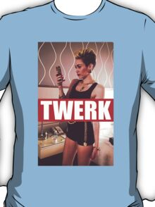 Miley Cyrus Twerk Team Fresh New T-Shirt