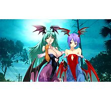 Morrigan & Lilith Photographic Print