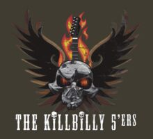 The Killbilly 5'ers - Skull guitar by Sovdjuret