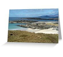 Sanna Bay Ardnamurchan Greeting Card