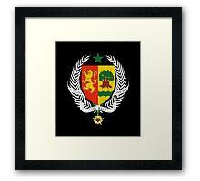 Coat of arms of Senegal Framed Print