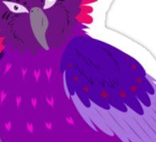 Purple Crown Sticker