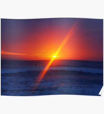 Sunrise, Manly Beach, Sydney, Australia  Poster