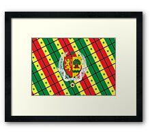 (Coat of arms of) Senegal Framed Print