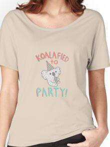Koalafied To Party! Funny Koala  Women's Relaxed Fit T-Shirt