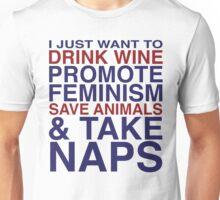 Feminist Wine Club Unisex T-Shirt