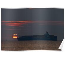 Sunrise Container Poster