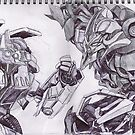 Transformers Dual by Andrew Pearce