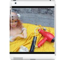 Doll on Yellow iPad Case/Skin