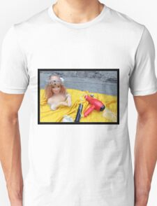 Doll on Yellow T-Shirt