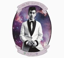 Alex Turner You're Outta This World Galaxy by Glampagne