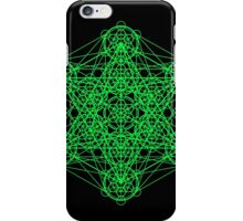 Infinity Cube Green iPhone Case/Skin
