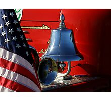The Vintage Firefighter ~ Part One Photographic Print