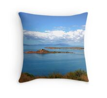 """Gateway to the Great Barrier Reef"" Throw Pillow"