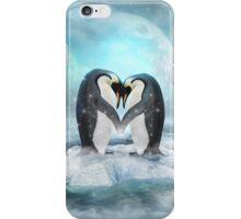 Listen Hard (Penguin Dreams) iPhone Case/Skin
