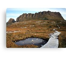 The Overland Trail below Cradle Mountain, Australia Canvas Print
