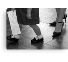 Mother & Daughter Canvas Print