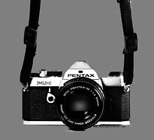 Classic Vintage 35mm Film SLR Camera Pentax MX  by Framerkat