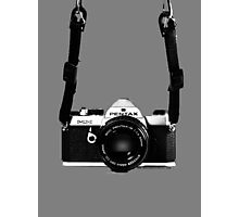 Classic Vintage 35mm Film SLR Camera Pentax MX  Photographic Print