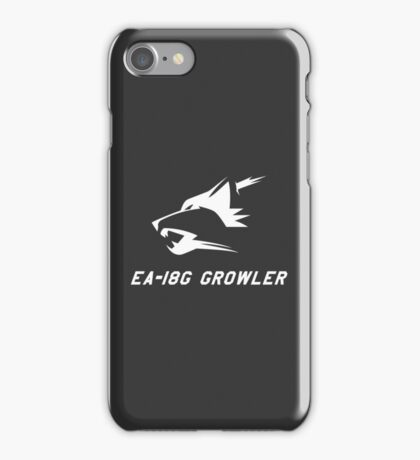 EA-18G Growler - WHITE iPhone Case/Skin