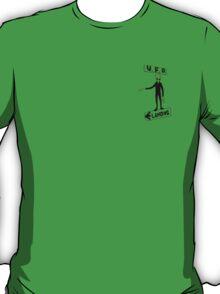 UFO Landing(Green) T-Shirt