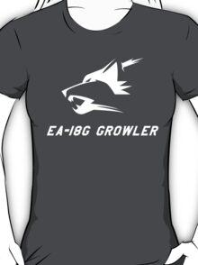 EA-18G Growler - WHITE T-Shirt