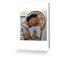 Tribute to Beatrix Potter Greeting Card