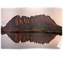 Cradle Mountain Tarn Sunset, Australia Poster