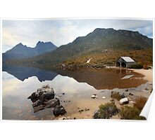 Boat Shed, Dove Lake, Cradle Mountain Nat. Park, Australia Poster