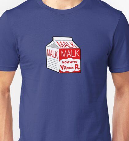 But I Always Drink Plenty of... Malk? Unisex T-Shirt