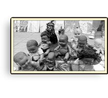 Dolls on the Street  Canvas Print