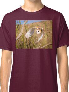 Barn Owl in Flight Classic T-Shirt