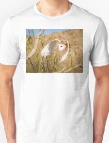 Barn Owl in Flight Unisex T-Shirt