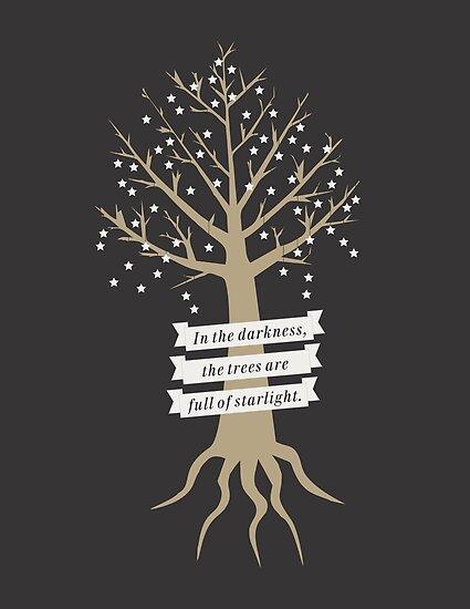 Trees Full of Starlight by certainasthesun