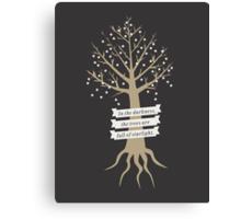 Trees Full of Starlight Canvas Print