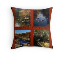 Scenes of the Tyger Throw Pillow