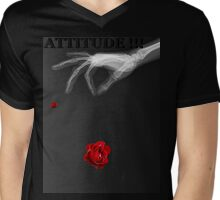 Attitude  130 Mens V-Neck T-Shirt