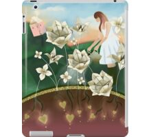 Origami Garden iPad Case/Skin