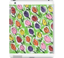 Tulips green iPad Case/Skin
