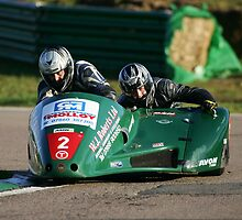 Mallory Park Sidecars by Mark Greenwood