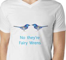 Fairy Wrens Mens V-Neck T-Shirt